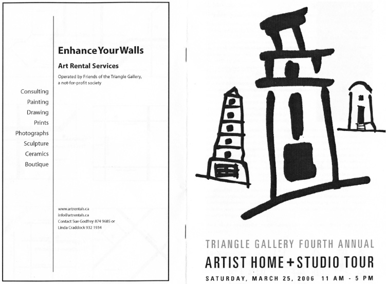Triangle house tour 2006 booklet cover_001