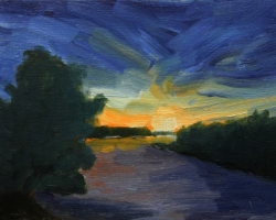 river-at-sunset-2-2015-op-5-5inx7in