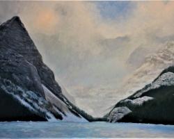 GDK27-16-Winter-at-Lake-Louise-2017-O.C.-30inX40in