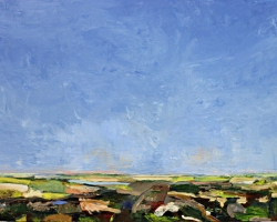 GDK12-19-Skyline-Study-12-oil-on-panel-11inX14in