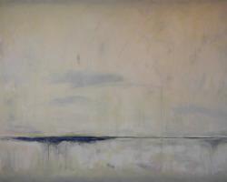 Signal #14, 2017, acrylic on canvas, 48inx72in sf