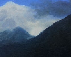 GDK09a-16-Study-for-Cold-Mountain-2-oil-on-panel-8-in-x-8-in