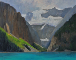 GDK17-16-Study-for-Lake-Louise-O.C.-8inx10in